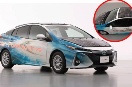 Toyota is testing a much more efficient solar roof for its electric cars