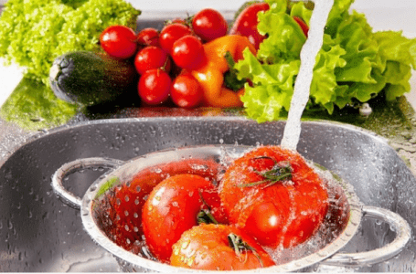How to Rinse Vegetables and Fruits