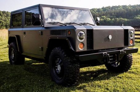 Rivian has produced Land Rover Defender as an electric car