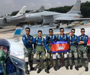 Cambodian Air Force Shows Success Using Airforce Aircraft